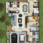 Propuestas de planos arquitectónicos de casas Infonavit