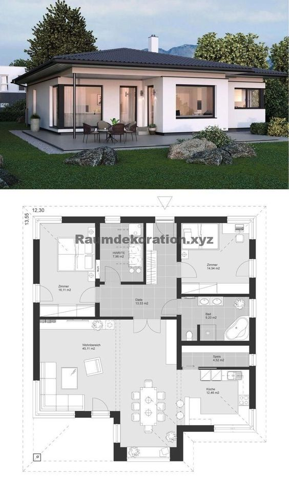 Free house plan designs with measurements
