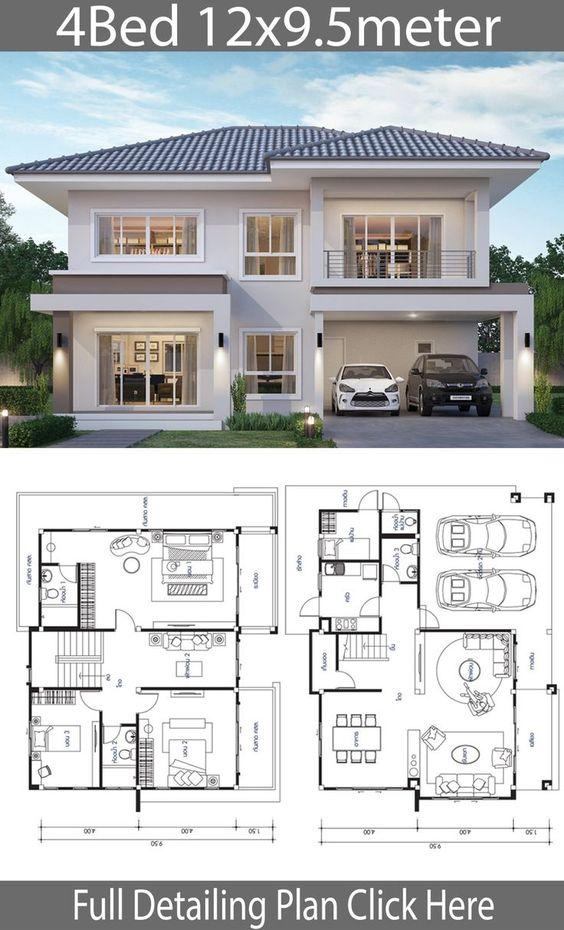 Planos de casas con pocos metros cuadrados construidos