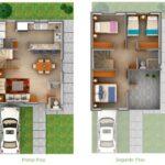Planos con cochera en terrenos pequeños