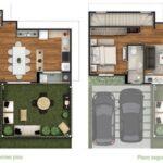 Plano de casa con buena distribución