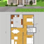 Planos de casas con patio interior para iluminación y ventilación