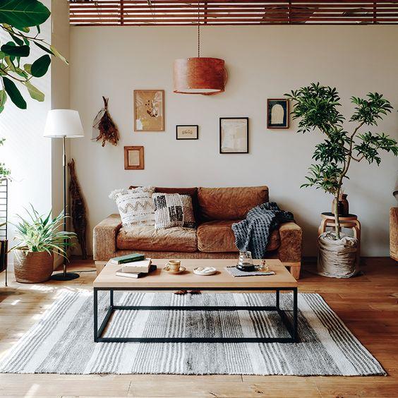 Las paredes lisas amplían los espacios