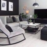 Área de tv en la sala de estar