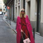 Abrigos largos en colores de moda