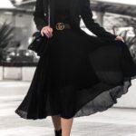 En outfits completamente negros