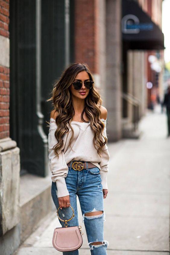 En outfits con jeans de mezclilla