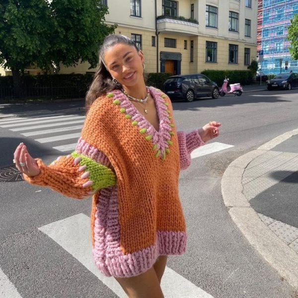 Cómo usar un sweater dress esta temporada otoño - invierno si eres una mujer madura