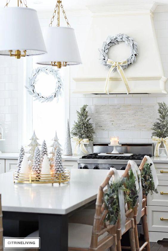 Decoración de cocinas navideñas