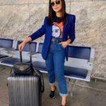 Dúo con estilo - Jeans con blazer para mujeres de 30