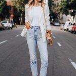 Ideas de looks con blazer y flats