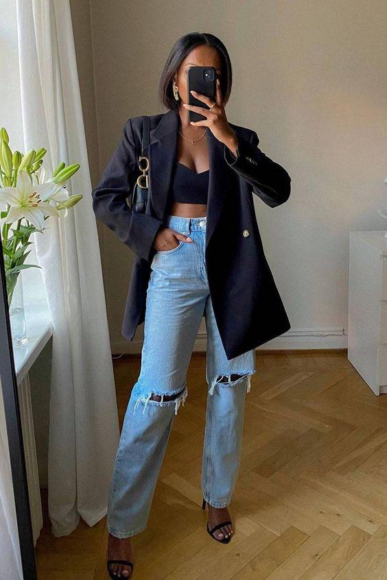 Evita las aplicaciones en tus jeans