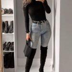 Formas de usar botas altas para chicas bajitas