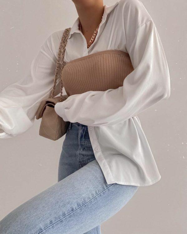 Pantalones de mezclilla holgados