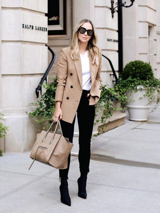 Zapatos para este look de moda