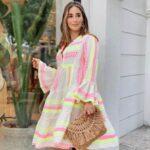 Looks casuales con bolsos de paja para mujeres maduras