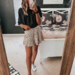 Ideas de outfits cómodos con mini faldas