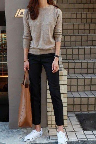 Outfits con prendas casuales combinadas con prendas de vestir