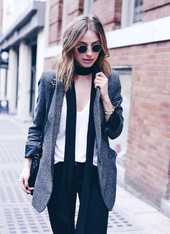Complementa tus looks con blazers