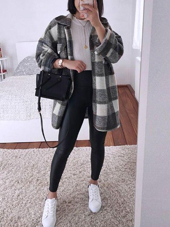Ideas de outfits con sobre camisas oversize