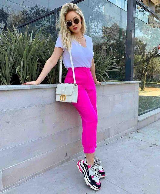 Outfits con tenis en colores originales