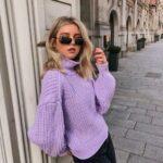 El color lila