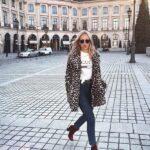 Ideas de outfits casuales con abrigos de peluche
