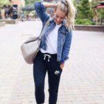Pants con chamarra de mezclilla