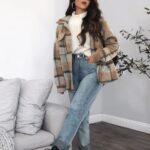 Looks cómodos con jeans de mezclilla para tiempo de frío