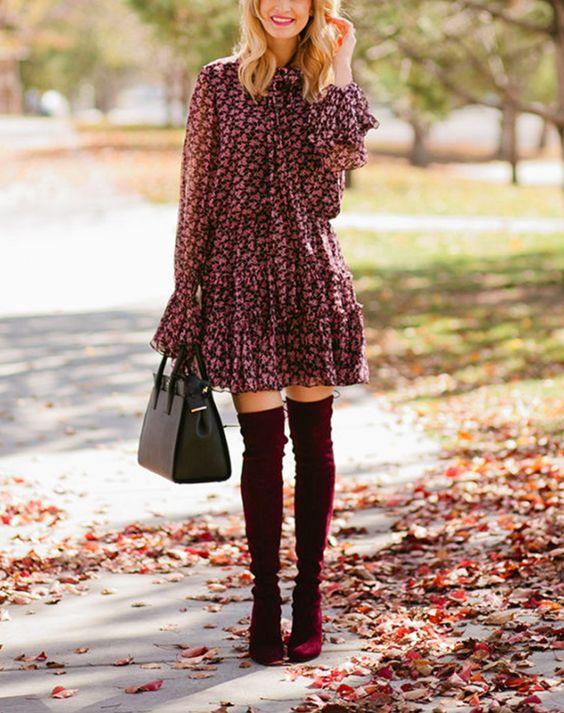Vestidos cómodos para usar en tiempo de frío