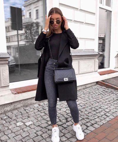Ideas de looks con abrigos largos para invierno
