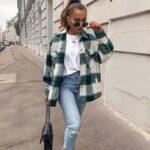 Looks casuales con jeans para invierno