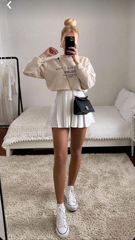 Outfits con falda para la escuela