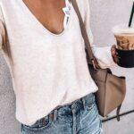 Outfits con una camisa, bralette y short