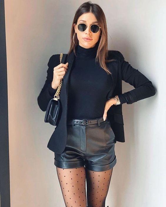 Outfit de cuero