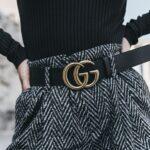 Cinto Gucci con doble G en tendencia