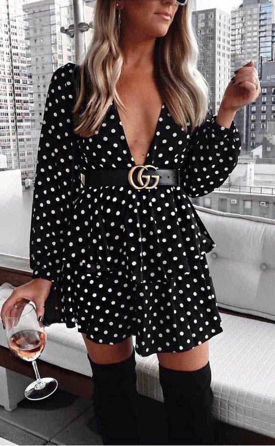Usa tu cinturón gucci con tu vestido favorito